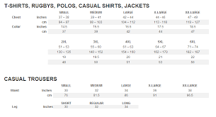Bull It Jeans Size Chart Raging Bull Size Guide