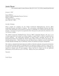 Sample Cover Letter Banking Good Cover Letter Example 3 Best