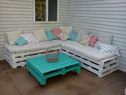 shabby chic pallet patio furniture
