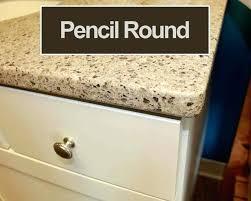 pencil edge countertop crescent a pencil round pencil round countertop edge