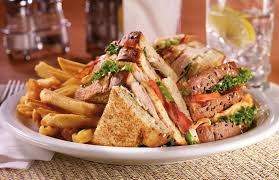 Item Club Sandwich Dennys