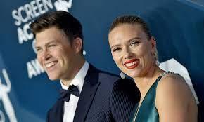 Scarlett Johansson and husband Colin ...