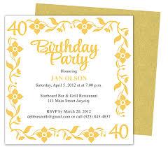 Birthday Invitations Templates Word Birthday Invites Outstanding