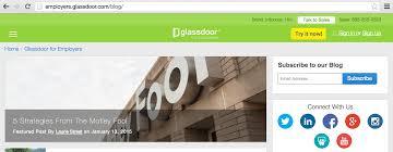 Glassdoor.com – Workplace Culture blog