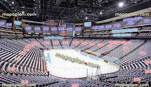 Coyotes Hockey Arena Seating Chart Gila River Arena View From Section 107 Row W Seat 18
