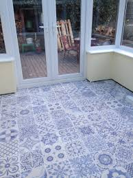 Delighful Blue Bathroom Floor Tiles Delft Wall And Tile Roomset With Impressive Ideas
