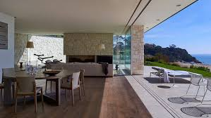 view in gallery modern wood and glass australian beach house 4