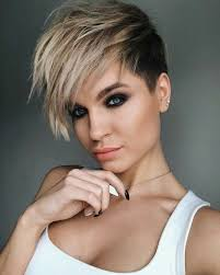 Hairstyle New Short Thick Hair Ladies Medium Pixie Trends Black