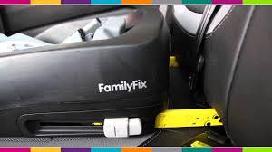 maxi cosi family fix base car seat fitting kiddicare