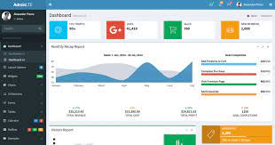 free dashboard template for admin 2019