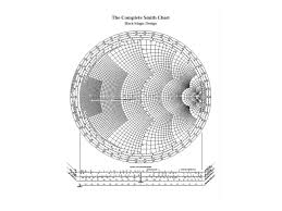 The Complete Smith Chart Intro To The Smith Chart Transmission Line Applications