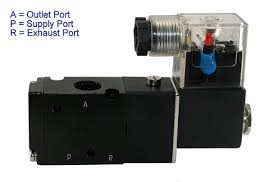 directional control solenoid valve 3 way air valve pneumatic valve