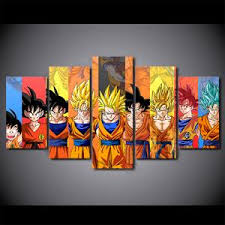 Dragon Ball Z Decorations 100 Piece Canvas Art Hd Print Painting Dragon Ball Z Picture Kid 47
