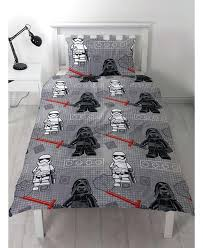 covers double star this official lego star wars seven single duvet cover and pillowcase set features lego kylo ren