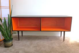 Cabinet Record Player Mid Century Modern Record Player Cabinet Media Table Tv Stand