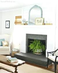 paint fireplace white painting brick best painted fireplaces ideas paint fireplace white how