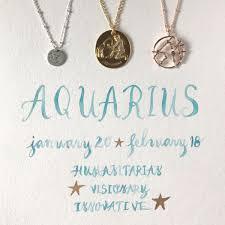 aquarius necklaces by sequin nyc