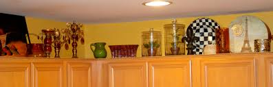 decorating tops of kitchen cabinets. Cabinets New Decorating Tops Of Kitchen