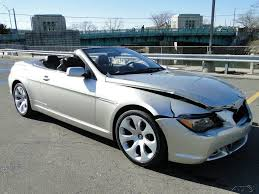 Coupe Series bmw 645 convertible : 2005 BMW 645 Ci 4.4L V8 Convertible Repairable Rebuild for sale