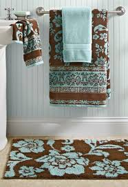 Main Bathroom BHG Thick & Plush towels in Aquifer + Costa Brown are such an  affordable way to makeover your bath with style