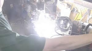 First Test With 48kj Xenon Flash Lamp Speedotron 4803 Strobe Light