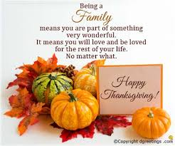 Happy Thanksgiving Quotes For Friends And Family Simple Send Thanksgiving Wishes To Write In A Card Dgreetings