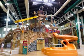 the resort s water fort fort mackenzie is perfect for younger kids