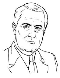 Small Picture President LBJ on Presidents Day Coloring Page Download Print