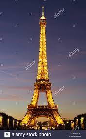 Eiffel Tower Light Show 2017 Paris France October 4 2017 Eiffel Tower Light And Beam