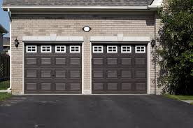 dark brown garage doors60 Residential Garage Door Designs Pictures