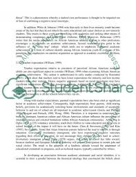 stereotypes and african american self perception essay related essays