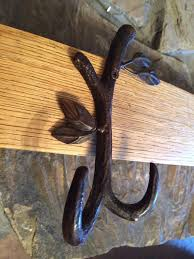 Wine Barrel Stave Coat Rack Wine barrel stave coat rack with a tree center hook and two double 33