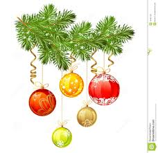 Isolated Christmas Branch Of Fir Tree Stock Vector