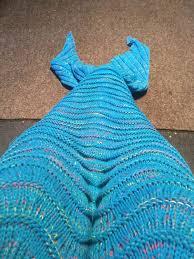 Mermaid Blanket Knitting Pattern Impressive Knitting A Mermaid Blanket 48 Steps With Pictures