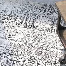 black white gray rug park power loomed ivory black area rug black white gray kilim rug