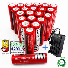 <b>2019 New</b> Large Capacity Battery Rechargeable Lithium Battery ...
