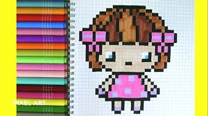 Pixel Petite Fille Kawaii Youtube