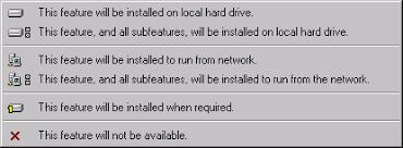 what is windows installer installsite custom setup options in windows installer