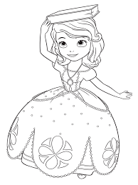Small Picture Sofia the First coloring pages Free Printable Sofia the First