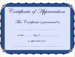 Certificate Of Appreciation Free Download Download Free Publisher Template Certificate Appreciation Gallery