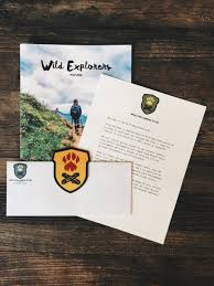wild explorers club at the end of the assignments you ll get access to an online application in order to move onto the next level and get your embroidered patch in