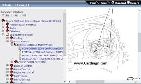 toyota 2008 land cruiser repair manual wiring diagrams pdf car repair guide pdf at Free Repair Diagrams