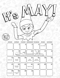 Elf On The Shelf Coloring Pages Free Printable Elf On The Shelf ...