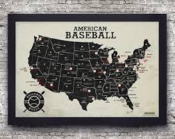 Legible Mlb Baseball Stadium Map Of Baseball Stadiums In Usa