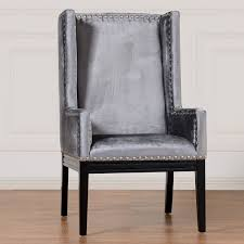 velvet accent chair. Collection In Velvet Accent Chair Tribeca Grey Contemporary Armchairs And V