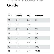 Rock Revival Jeans Size Chart Women S Rock Revival Jeans Women S Size Chart The Best Style Jeans