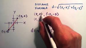 how to find the distance between two points how to use the distance formula you
