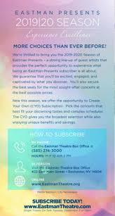 Eastman Presents 19 20 Season Brochure Pages 1 12 Text