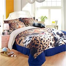 useful animal print bed sets d9309583 animal leopard print bedding sets twin queen king size quilt
