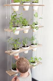 Small Picture A DIY plant hanger is an excellent way to bring a fresh herbs into